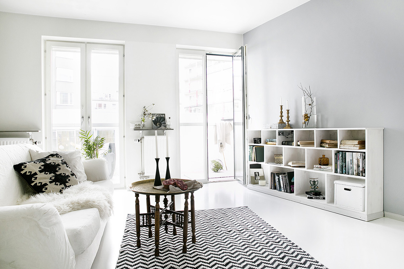 Clean My Apartment White And Clean Apartment In Stockholm Decordove