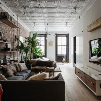 Inspiring Industrial Living Rooms