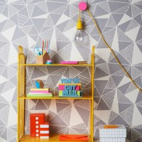 Geometric wallpapers to love