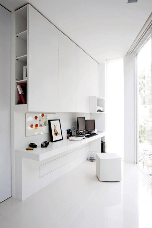 10 minimalist home offices to inspire decordove for Minimalist home interior
